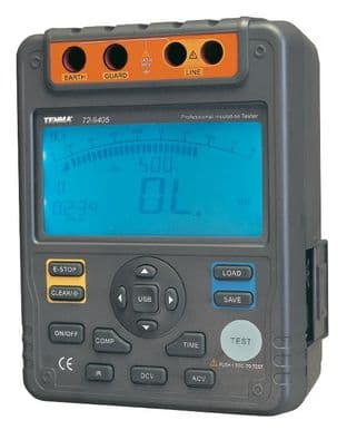 TENMA 72-9405  Tester, Insulation, Resistance